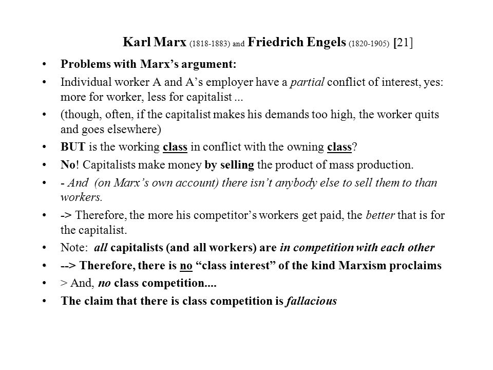 an analysis of the elements of capitalism in the works of karl marx After many delays, distractions, and health problems, marx finally published the first volume of capital, a major analysis of capitalism and his most important work in 1867, karl marx.